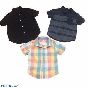 2T boys short sleeve shirt bundle